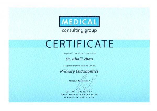 2012.05.29. Primary Endodontics