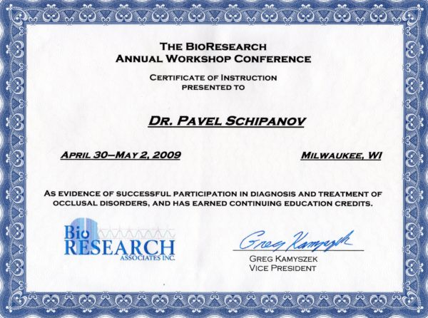 2009.30.04-02.05 The BioResearch Annual Workshop Conference