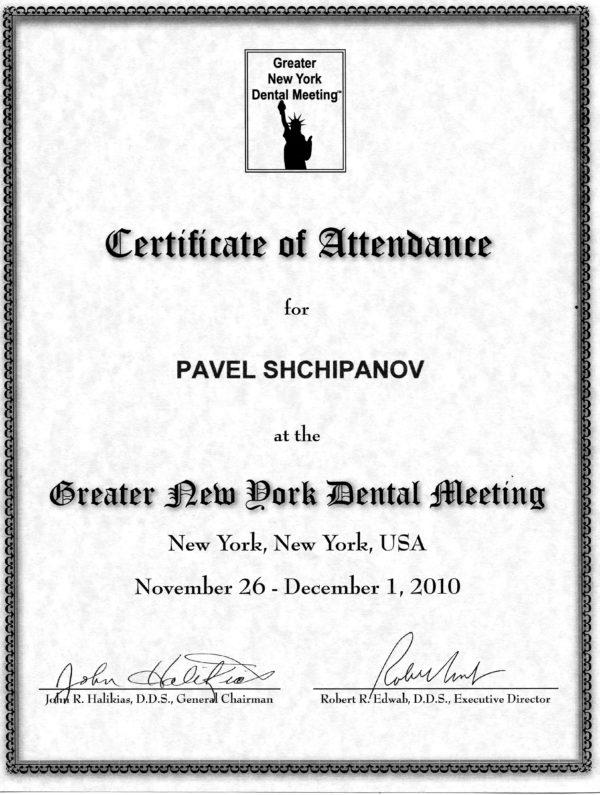 2010.26.11-01.12 Creater New Dork Dental Meeting